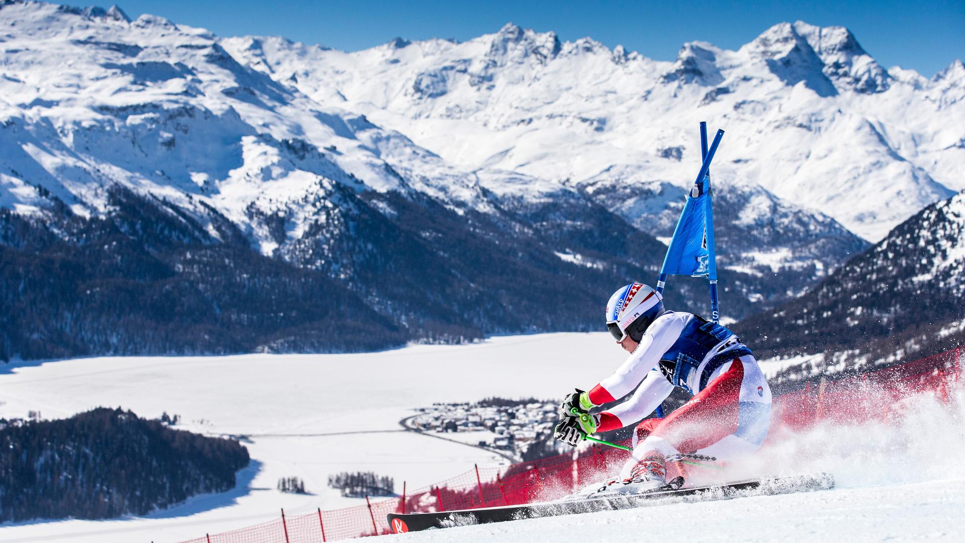 St. Moritz, 19.03.2016, Impressionen Frauen Slalom und Männer Riesenslalom am Samstag, 19. März 2016, in St. Moritz. (Nicola Pitaro)