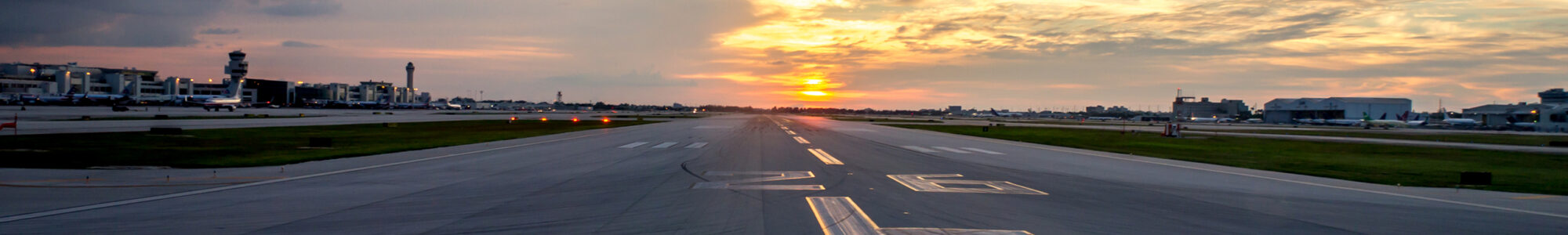 runway two-six left